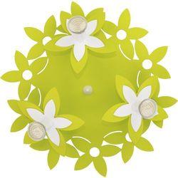 Plafon kwiatki Nowodvorski Green 6900 lampa sufitowa 3x35W GU10 zielony, 6900