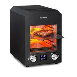 Klarstein hannibal, grill wysokotemperaturowy, do użytku wewnętrznego, 2200 w, 850°c, stal szlachetna, czarny
