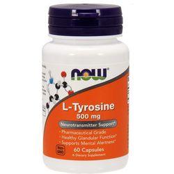 Now foods l-tyrozyna 500mg 60 kaps. od producenta Now foods, usa