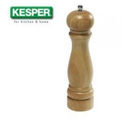 Młynek do soli i pieprzu  drewno kauczukowe wys. 26,5 cm 13662 wyprodukowany przez Kesper