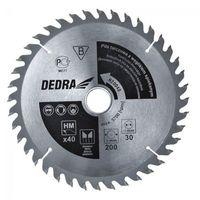 Tarcza do cięcia DEDRA H600100 600 x 30 mm do drewna + Zamów z DOSTAWĄ JUTRO! + DARMOWY TRANSPORT!, H600100