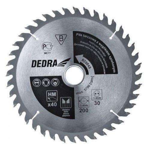 Tarcza do cięcia DEDRA H600100 600 x 30 mm do drewna + DARMOWA DOSTAWA!