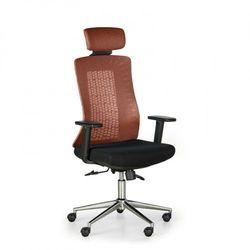 B2b partner Krzesło biurowe eden, pomarańczowo/czarne