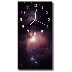 Zegar Szklany Pionowy Wszechświat Kosmos galaktyka