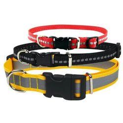 CHABA Obroża odblaskowa regulowana dla psa 20mm/46cm SZEROKI ODBLASK, kup u jednego z partnerów