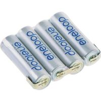 Pakiet akumulatorów AA, NiMH Panasonic eneloop Reihe F1x4, Ilość ogniw: 4, 4.8 V, 1900 mAh, Z-końcówka do