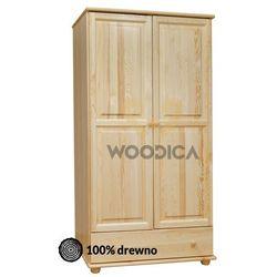 04.szafa 2d1s 102x190x60 marki Woodica