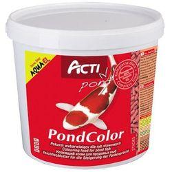 acti pond color - pokarm wybarwiający dla ryb stawowych 11l marki Aqua el