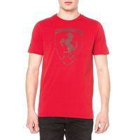 Puma  ferrari shield koszulka czerwony m