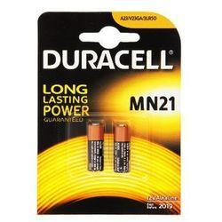 Duracell A23(MN21) - blister (2szt.) - produkt z kategorii- akumulatory dedykowane
