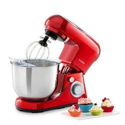Klarstein Bella Pico 2G, robot kuchenny, 1200 W, 1,6 HP, 6 stopni, 5 litrów, czerwony (4060656160219)