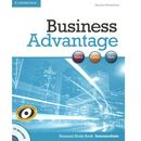 Business Advantage Intermediate Personal Study Book with Audio CD, oprawa miękka