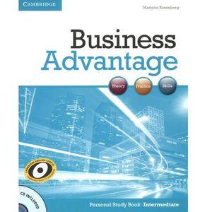 Business Advantage Intermediate Personal Study Book with Audio CD, oprawa miękka