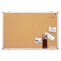 Tablica korkowa SP 900x600 mm Alu + pinezki