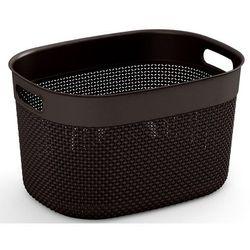 Kosz KIS Filo Basket Brązowy (rozmiar L)
