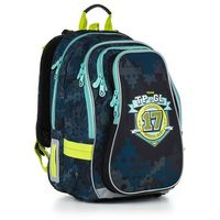 Plecak szkolny Topgal CHI 878 D - Blue, kolor niebieski