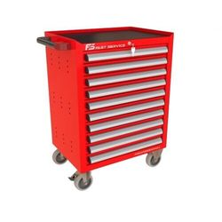 Wózek narzędziowy z 10 szufladami p-210 marki Fastservice