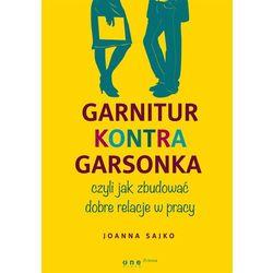 Garnitur kontra garsonka, czyli jak zbudować dobre relacje w pracy, książka z kategorii Albumy