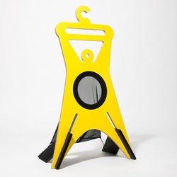 Wieszak stojący TONDA 94,9 cm, żółty ()