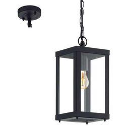 Zewnętrzna lampa wisząca alamonte 94788  ogrodowa oprawa zwis klatka na łańcuchu outdoor ip44 czarna marki Eglo