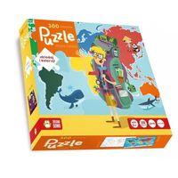 Puzzle 300 Mapa Świata