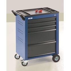 Wózek narzędziowy, 5 szuflad z pojedynczą blokadą, wys. x szer. x głęb. 930x630x