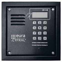 Cyfral Panel cyfrowy pc-2000re czarny z czytnikiem rfid i elektroniką (5902768850888)