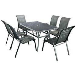 Hecht czechy Hecht honey set 6 meble ogrodowe zestaw mebli ogrodowych stół + 6 krzeseł aluminium szkło - ewimax oficjalny dystrybutor - autoryzowany dealer hecht