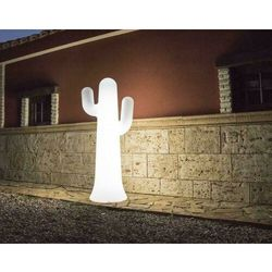 NEW GARDEN lampa ogrodowa PANCHO C biała - LED