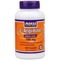 Now Foods L-Arginina 500mg 100 kaps.
