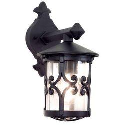 Zewnętrzna LAMPA ścienna HEREFORD BL8 Elstead KINKIET metalowa OPRAWA ogrodowa IP23 outdoor czarny - sprawdź w wybranym sklepie