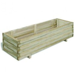 Drewniana donica 120 x 40 x 30 cm, vidaXL z VidaXL