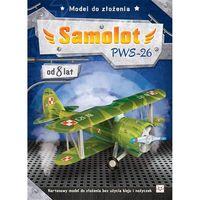 Model do złożenia. Samolot PWS-26 + zakładka do książki GRATIS (9788377139516)