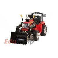Najmocniejszy traktor z łyżką i pilotem 12v dwie prędkości/1005a pojazdy na akumulator dla dzieci marki I