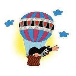 Prezent Kinkiet dziecięcy krecik w balonie