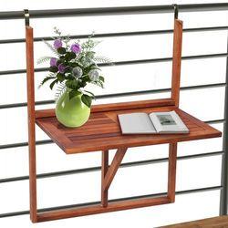 vidaXL Wiszący stolik balkonowy - sprawdź w wybranym sklepie