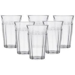 Duralex picardie komplet 6 szklanek 500 ml