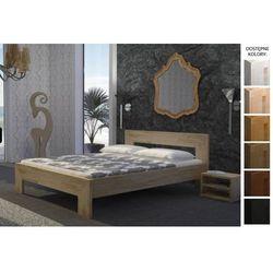 łóżko drewniane praga 140 x 200 marki Frankhauer