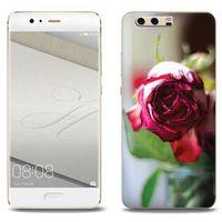 Foto Case - Huawei P10 Plus - etui na telefon Foto Case - pączek róży