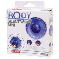 Zolux  kołowrotek mini rodylounge silent wheel fioletowy [205942], kategoria: kołowrotki