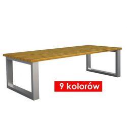 Elior.pl Ława ogrodowa norin 150x76x47 - 9 kolorów