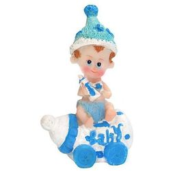 Figurka Bobas na butelce 7,5 cm - chłopczyk - CHP