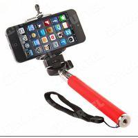 Wysięgnik monopod selfie z uchwytem na telefon czerwony - Czerwony - produkt z kategorii- Gadżety