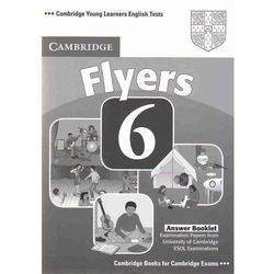 Cambridge Young Learners English Tests Flyers 6 Answer Booklet (ilość stron 32)