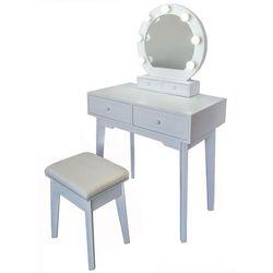 Toaletka z lustrem Vanessa, 75 x 40 x 130 cm