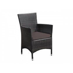 Beliani Poszewki brązowe 8 sztuk na poduszki siedziskowe do krzesła italy (7105273926620)