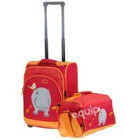 Walizka dziecięca + torba Travelite Youngster hipopotam - hipopotam - sprawdź w wybranym sklepie