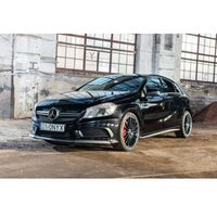 Jazda Mercedes A 45 - Bednary (k. Poznania) \ 3 okrążenia