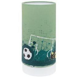 tabara 97763 lampka stołowa dziecięca 1x6w led zielona/biała marki Eglo