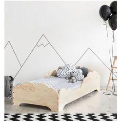 Producent: elior Drewniane łóżko dziecięce lexin 10x - 21 rozmiarów